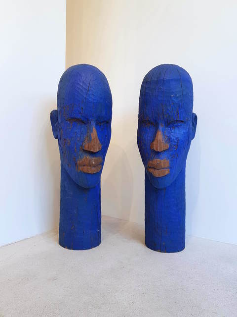 Alimi Adewale, 'Untitled', 2019, Sculpture, Carved wood and acrylic paint, Nil Gallery