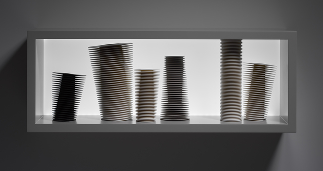 , 'Group of Leaning Vessels,' 2016, Taste Contemporary