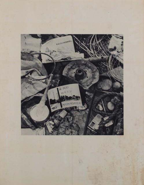 Robert Rauschenberg, 'Rauschenberg: 2nd Week November', 1961, Finarte