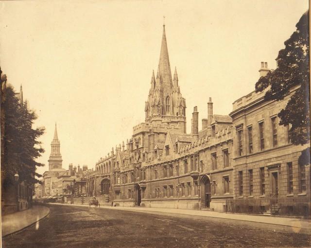 , 'Oxford High Street,' 1859, Robert Hershkowitz