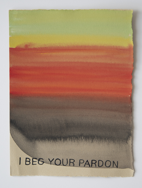 Julia Kuhl, 'I Beg Your Pardon', 2018, frosch&portmann