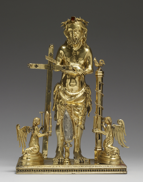 'Reliquary with the Man of Sorrows', 1347-1349, Walters Art Museum