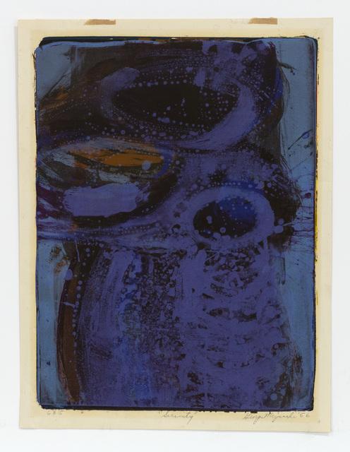 George Miyasaki, 'Serenity', 1956, Mary Ryan Gallery, Inc