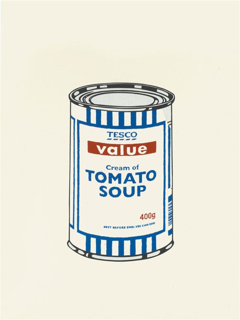 Banksy, 'Soup Can (Original Colour-Way)', 2005, Addicted Art Gallery