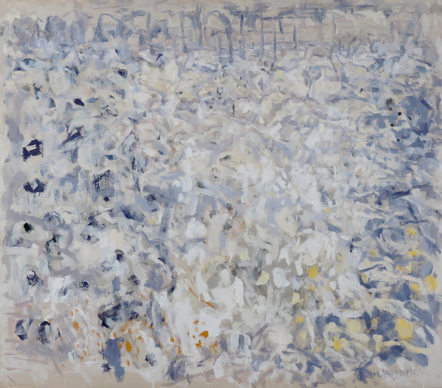 , 'Blue and White Field,' 2003, Main Street Arts