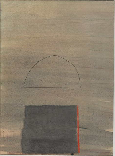 Larry Spaid, 'BCMI 38', 2008, Drawing, Collage or other Work on Paper, Acrylic and oil pastel on acid-free paper, InLiquid