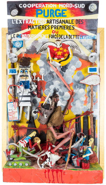 , 'Cooperation Nord-Sud, l'extraction,' 2007, Africa Bomoko