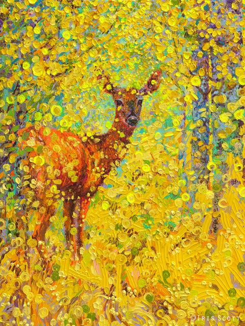 , 'Whitetail Deer (Embellished Artist's Proof),' 2018, Filo Sofi Arts