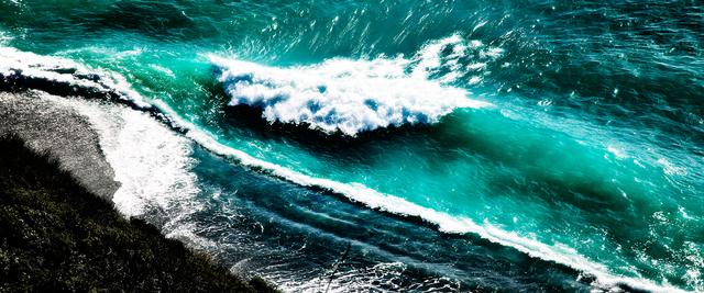 David Drebin, 'Crashing Waves', 2010, Isabella Garrucho Fine Art