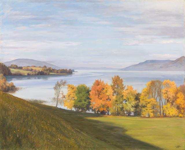 , 'Autumn Sun on Lake Attersse,' 1947, Galerie Kovacek & Zetter