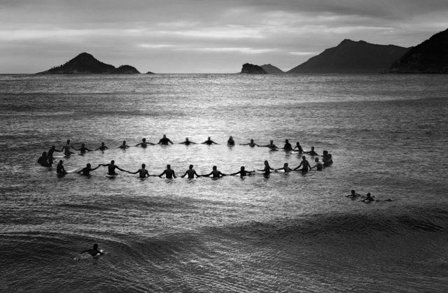 , 'Paddle Out, Recreio dos Bandeirantes,' 2013, PHOTOFAIRS | Insights