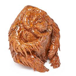 Untitled sculpture (Orangutan), California