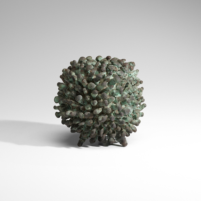Klaus Ihlenfeld, 'Untitled', c. 1970, Sculpture, Welded bronze with applied patina, Rago/Wright