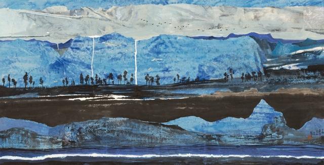 Zi Yao 子尧 Shen 沈, 'The Blue of the Shadows', 2017, White Space Art Asia