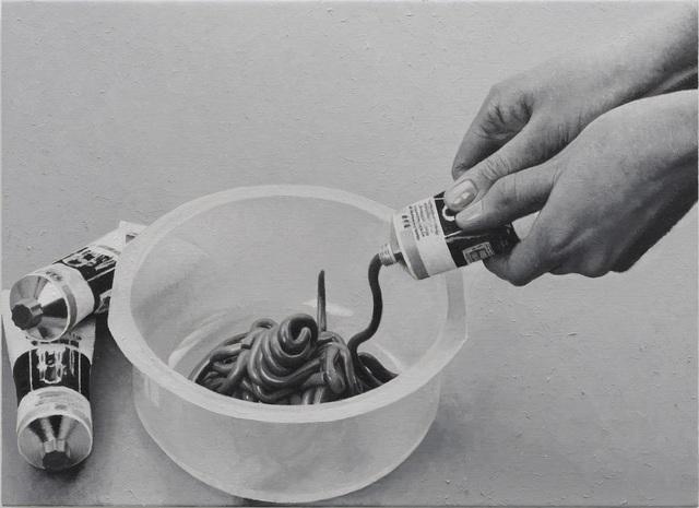 Rudolf Stingel, 'Untitled', 2019, Painting, Oil on canvas, Swiss Institute Benefit Auction