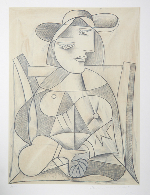 Pablo Picasso, 'Femme aux Mains Jointes,1938', 1979-1982, Print, Lithograph on Arches paper, RoGallery