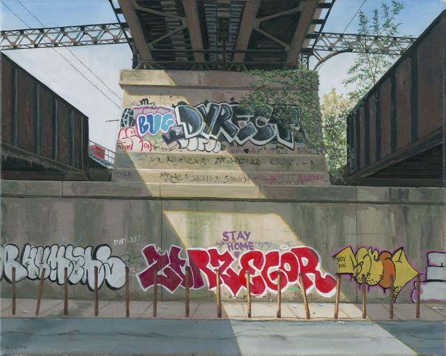 , 'Train Trestle, East 135th St, Bronx,' 2020, 33 Contemporary