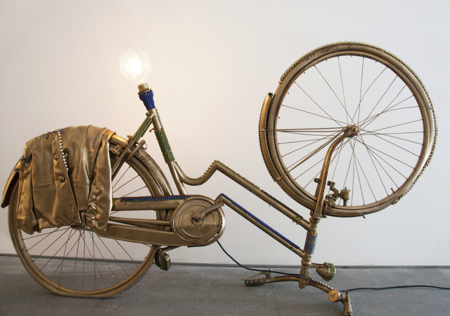 , 'Gold Lamp,' , Galleria Ca' d'Oro