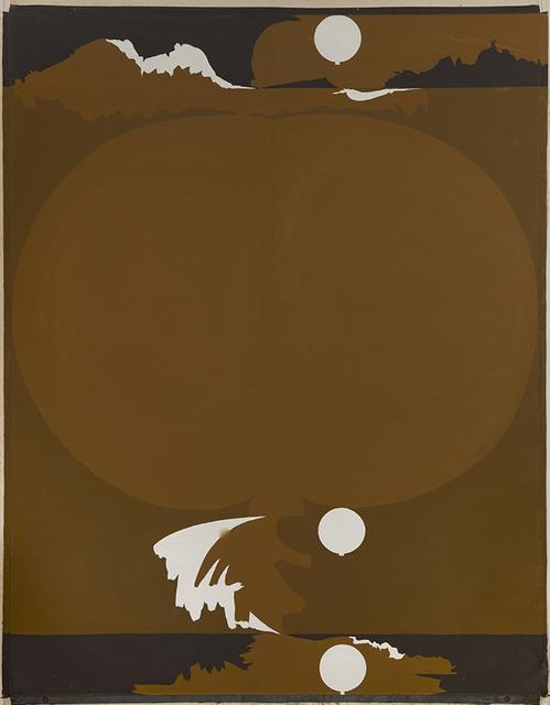 , 'Milarepa XI,' 1967, MONITOR