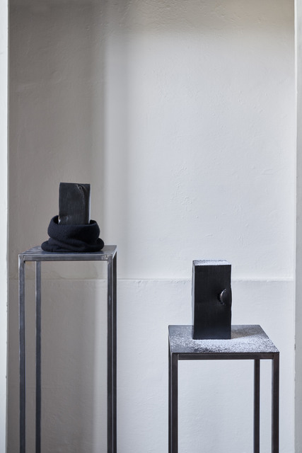 Serena Fineschi, 'Un giorno all'improvviso (Caption Series), La Grande Madre (Caption Series)', 2020, Sculpture, Gres porcelain, powder sugar, Palazzo Monti
