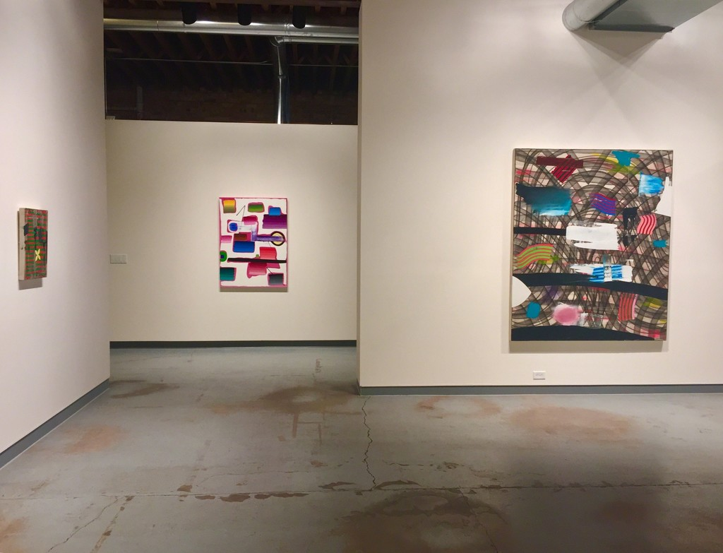 Eric Sall as part of Color and Pattern. (L to R: Red for Green, Temperature Control, Bebop Legend)