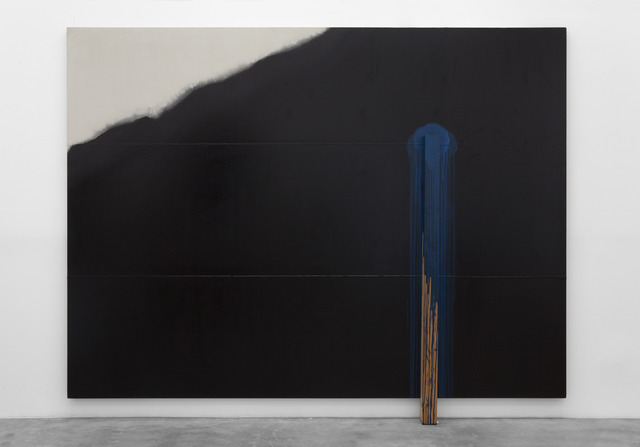 , 'Intervention No. 1,' 1987, Blum & Poe