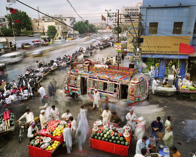 , 'New M.A. Jinnah Road, Saddar Town, Karachi, Pakistan ,' 2011, East Wing