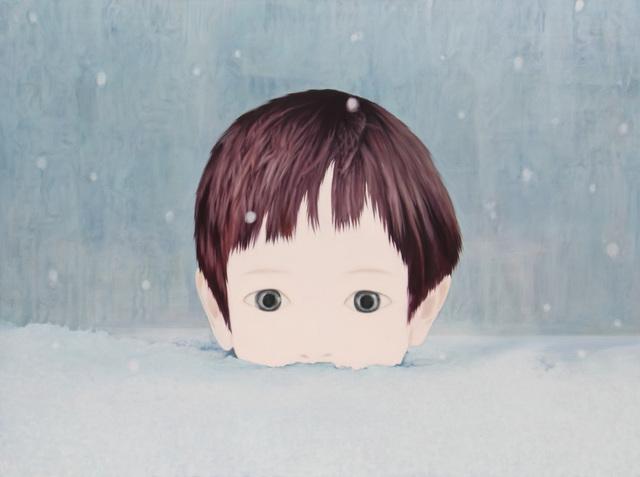 , 'snowy day,' 2014, Gallery Tsubaki