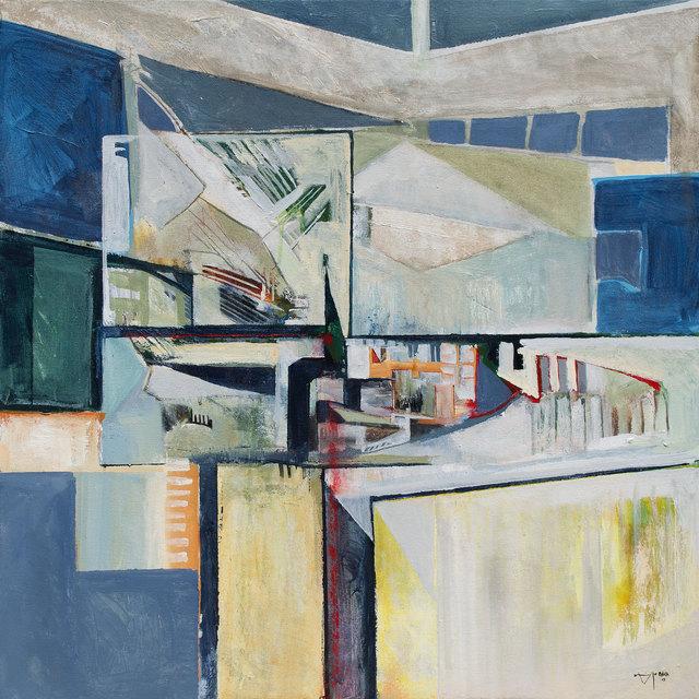 , 'Blue Reflection,' 2018, Owen Contemporary