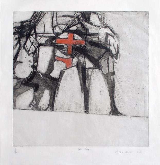 , 'Star-Strip,' 1962, The Mayor Gallery