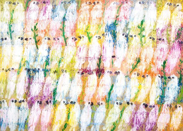 , 'Moulacan Cockatoos,' 2017, Cheryl Hazan Gallery