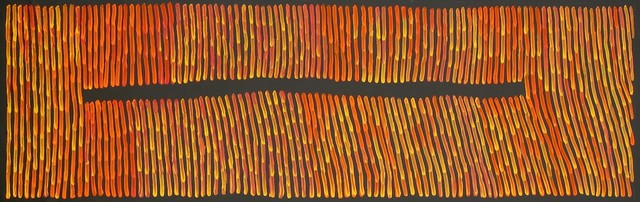 Ronnie Tjampitjinpa, 'Fire', 2015, Wentworth Galleries