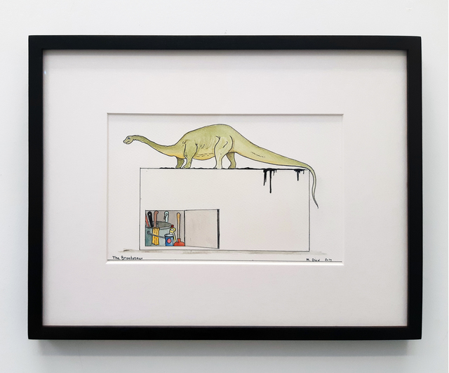 , 'The Brontosaur,' 2017, In Situ - Fabienne Leclerc