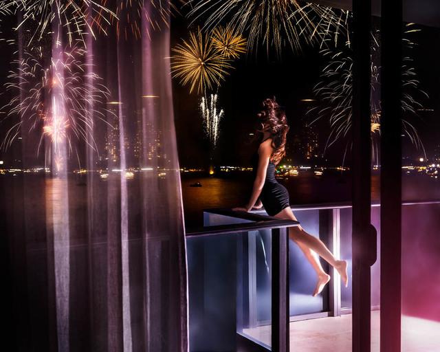 David Drebin, 'Fireworks', 2018, Isabella Garrucho Fine Art