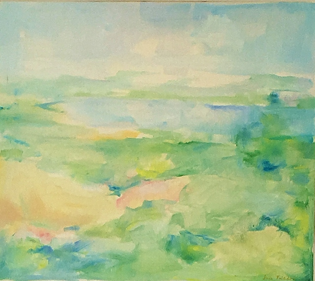 , 'Summer Landscape with Pond View,' ca. 1975, Lawrence Fine Art