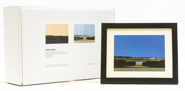 Julian Opie, 'View From My Bedroom Window (Cristea 104)', 2007, Forum Auctions