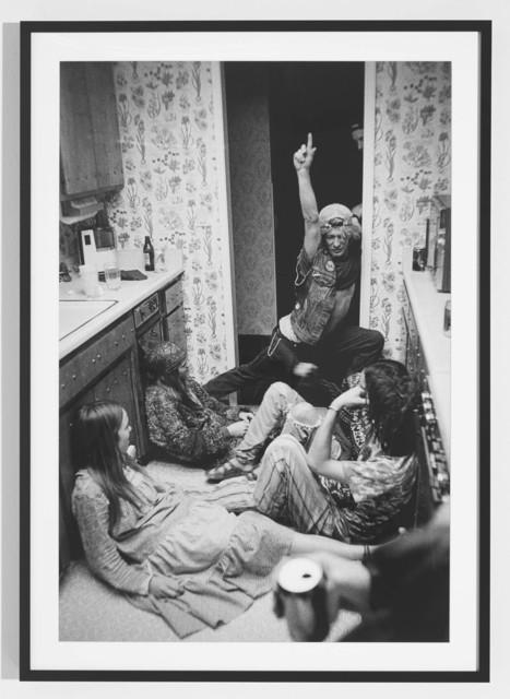 , 'Hippy Party, Sacramento,' 1990, The Hole