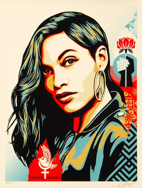 Shepard Fairey, 'Power & Equality: Dove', 2019, Heritage Auctions