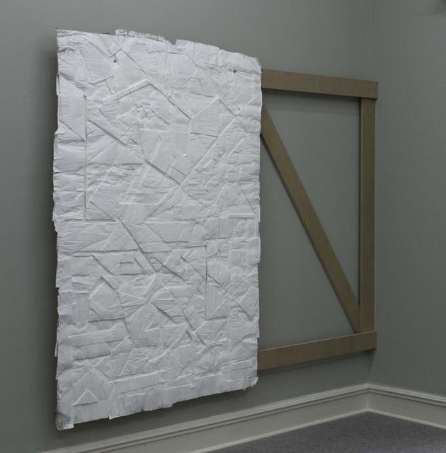 , 'White City/Front Panel III,' 2012, Galerija Gregor Podnar