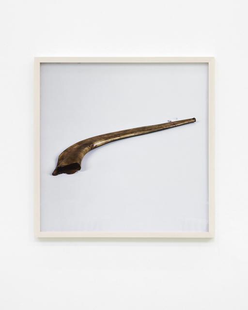 , 'War Damaged Musical Instruments (shofar),' 2016, Kunstverein Hannover