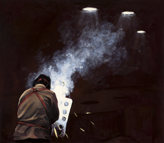 Michael Brophy, 'The Welders of Burning Alley III', 2019, Russo Lee Gallery