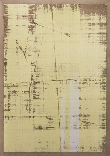 , 'Millimetré graph Paper CMYK (yellow),' 2017, Edouard Malingue Gallery
