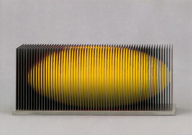 , 'Ellipsoid gelb,' 2016, Joerg Heitsch Gallery