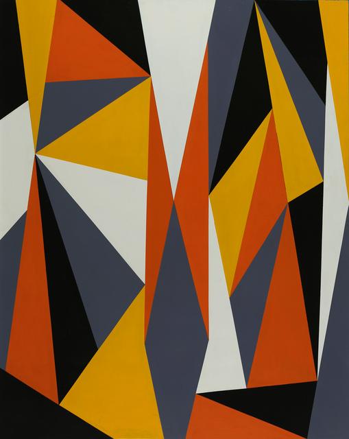 , 'Gestalt Orange-Yellow,' 2016, Latin Art Core