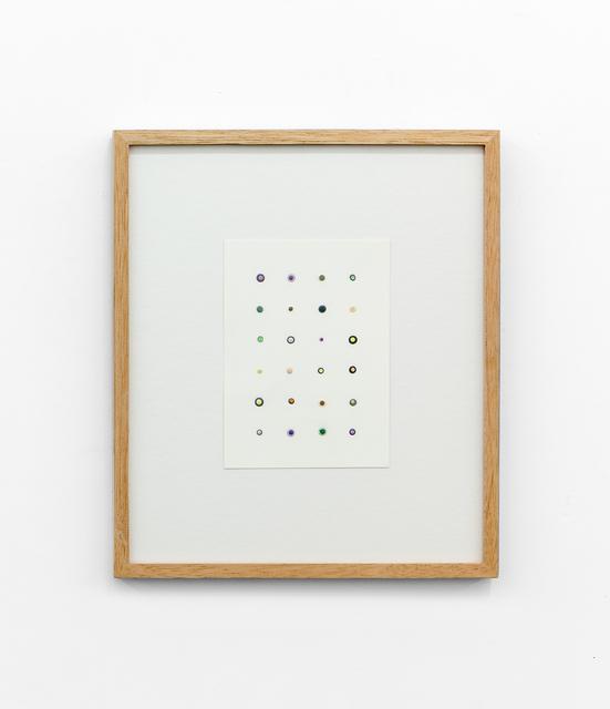 , 'FORMULAS II,' 2015, Tatjana Pieters