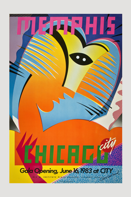 , 'Chicago City Store Memphis Poster  1983,' 1983, The Modern Archive