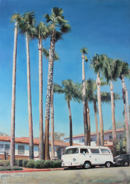 , 'Parked,' 2016, Sue Greenwood Fine Art
