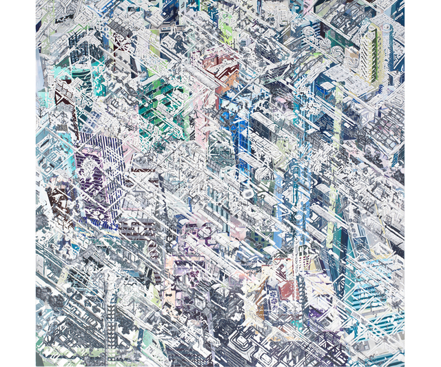 , 'Mirage City V,' 2015, Gallery Hyundai