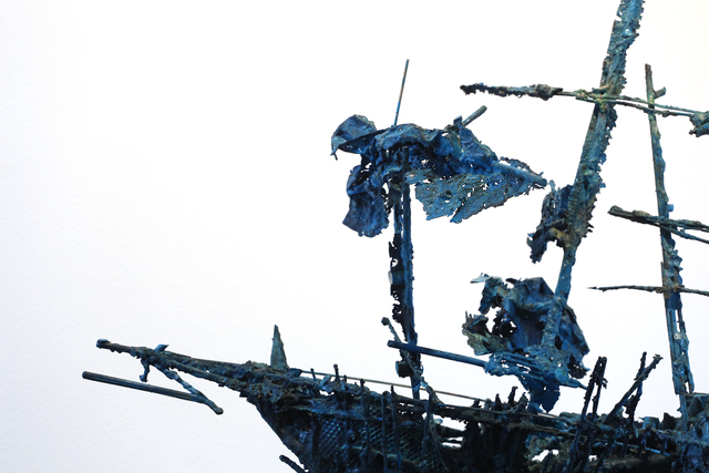 Štefan Polák, 'The ship of G. G. Marquez', ca. 2020, Sculpture, Bronze, stone, Viktoria's Gallery