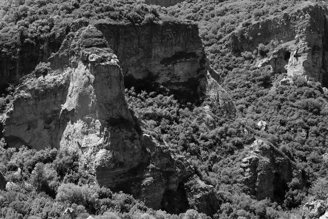 , 'Cliffs (Azat River Gorge, Armenia),' 2013, Pushkin House